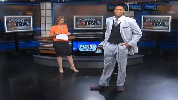 NV Men Featured in Derby Fashions on Fox 19 Morning Show